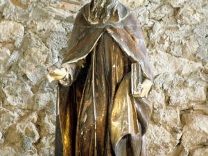 Ermita de San Román de Aginaga. Escultura. San Román