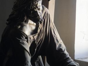 Iglesia parroquial de Nuestra Señora de la Asunción. Escultura. Cristo camino del Calvario