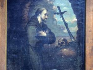 Iglesia parroquial de Nuestra Señora de la Asunción. Pintura. San Francisco de Asís