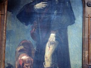 Iglesia parroquial de Nuestra Señora de la Asunción. Pintura. San Roque