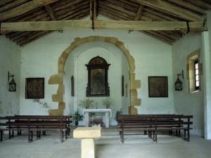 Ermita de San Roque. Interior