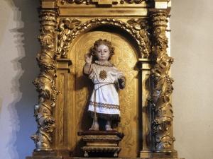 Iglesia parroquial de San Martín de Tours. Retablo del Niño Jesús de Praga