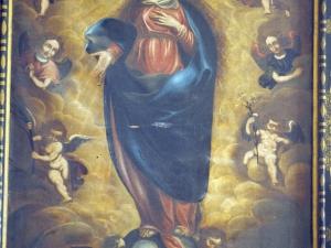 Iglesia parroquial de San Martín de Tours. Pintura. Nuestra Señora de la Asunción