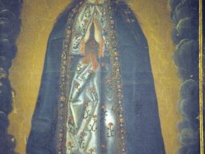 Iglesia parroquial de San Martín de Tours. Pintura. Inmaculada Concepción