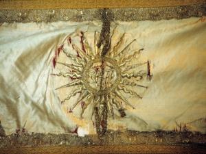 Iglesia parroquial de San Martín de Tours. Capa. Ornamento religioso