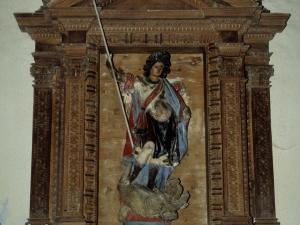Ermita de San Miguel Goikoa. Retablo de San Miguel Arcángel