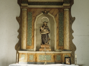 Ermita de San Antonio. Retablo de San Antonio