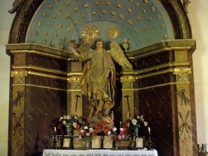 Ermita de San Miguel Behekoa. Retablo de San Miguel Arcángel