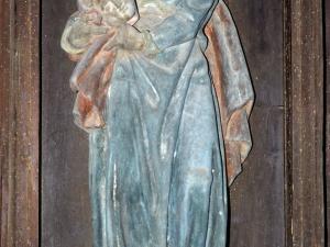 Ermita de San Miguel Behekoa. Escultura. Santa Margarita