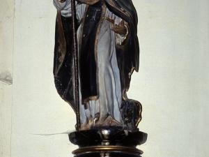 Iglesia parroquial de Santa M. Magdalena de Marin. Escultura. San Antón