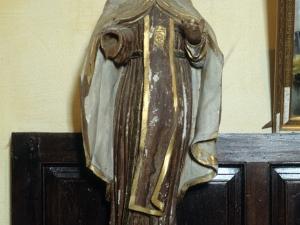 Iglesia parroquial de Santa M. Magdalena de Marin. Escultura. Virgen del Carmen