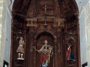 Ermita de Santa Lucía de Marin. Retablo de Santa Lucía