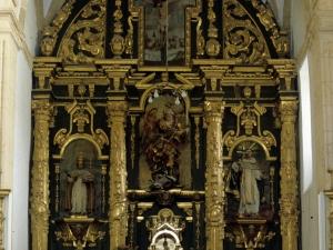 Iglesia parroquial de San Miguel Arcángel de Apotzaga. Retablo de San Miguel Arcángel