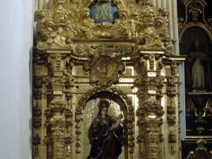 Iglesia parroquial de San Miguel Arcángel de Apotzaga. Retablo de la Virgen del Rosario