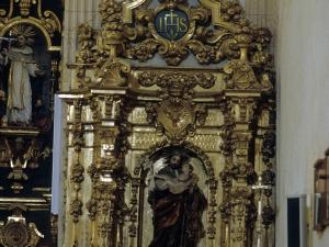 Iglesia parroquial de San Miguel Arcángel de Apotzaga. Retablo de San José