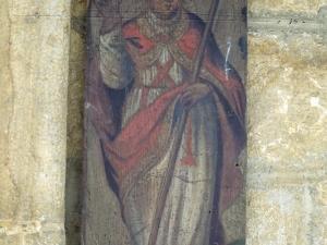 Iglesia parroquial de San Miguel Arcángel de Apotzaga. San Gregorio. Pintura sobre tabla