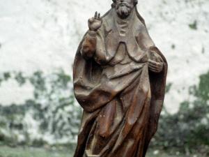 Iglesia parroquial de San Miguel Arcángel de Apotzaga. Escultura. San Agustín