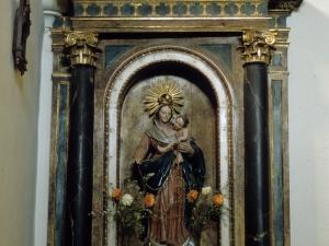 Iglesia parroquial de San Miguel Arcángel de Bolivar. Retablo de la Virgen del Rosario