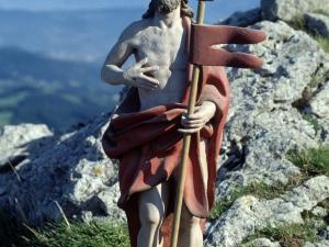 Ermita de Santa Cruz de Aitzorrotz. Escultura. Cristo Crucificado
