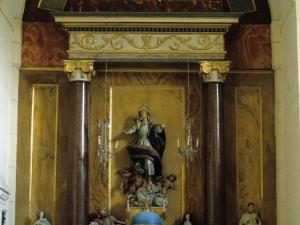 Iglesia parroquial de Nuestra Señora de la Asunción de Gellao. Retablo de Nuestra Señora de la Asunción