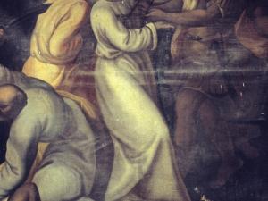 Iglesia parroquial de Nuestra Señora de la Asunción de Gellao. Pintura. Prendimiento de Cristo