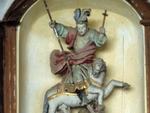 Ermita de San Jorge de Mendiola. Escultura. San Jorge