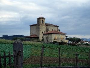Iglesia parroquial de San Miguel Arcángel de Apotzaga.