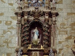 Iglesia parroquial de San Miguel Arcángel. Retablo de la Inmaculada Concepción