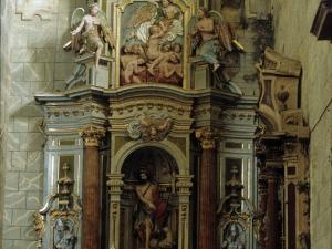 Iglesia parroquial de San Miguel Arcángel. Retablo de San Juan Bautista