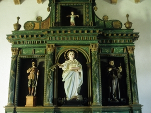 Ermita de Santa Marina. Retablo de Santa Marina