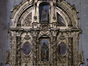 Iglesia parroquial de Nuestra Señora de la Asunción. Retablo de San Roque