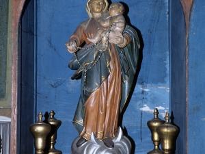 Iglesia parroquial de Nuestra Señora de la Asunción. Escultura. Virgen del Rosario
