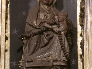 Iglesia parroquial de Nuestra Señora de la Asunción. Escultura. Santa Ana y la Virgen niña
