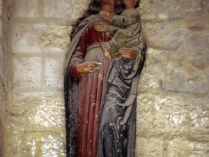 Iglesia parroquial de Nuestra Señora de la Asunción. Escultura. Andra Mari
