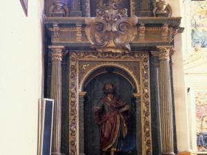 Iglesia parroquial de San Miguel. Retablo de San Pedro
