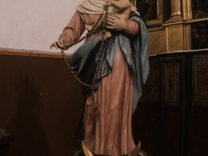 Iglesia parroquial de San Miguel. Escultura. Virgen del Rosario