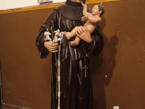 Iglesia parroquial de San Miguel. Escultura. San Antonio