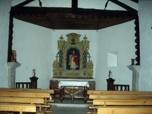 Ermita de San Martín de Eizmendi. Retablo