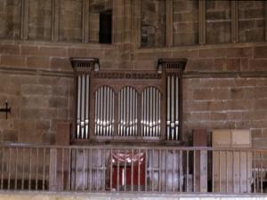Iglesia parroquial de San Salvador. Órgano