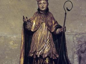 Iglesia parroquial de San Salvador. Escultura. San Blas