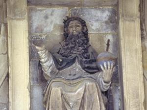 Iglesia parroquial de San Salvador. Escultura. Salvador