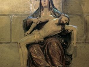 Iglesia parroquial de San Salvador. Escultura. Piedad