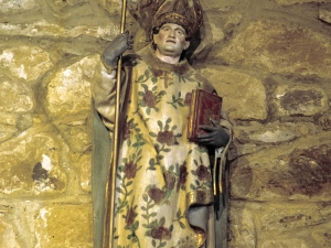 Ermita de San Prudencio. Escultura. San Prudencio