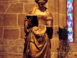 Iglesia de San Martín de Askizu. Escultura. María Magdalena