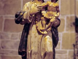 Iglesia de San Martín de Askizu. Escultura. Virgen del Rosario