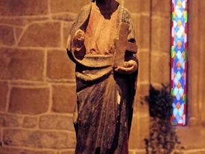 Iglesia de San Martín de Askizu. Escultura. San Simón