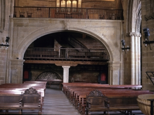 Iglesia parroquial de San Salvador. Interior