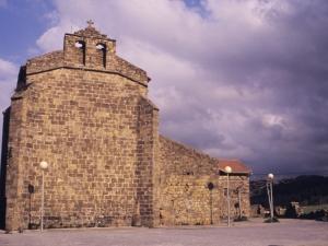 Iglesia de San Martín de Askizu.