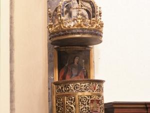 Iglesia parroquial de San Juan Bautista. Púlpito