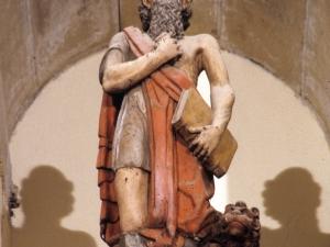 Iglesia parroquial de San Juan Bautista. Escultura. San Jerónimo